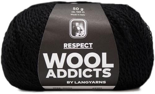 Wooladdicts Seductive Secret Cardigan Knit Kit 2 XL Black