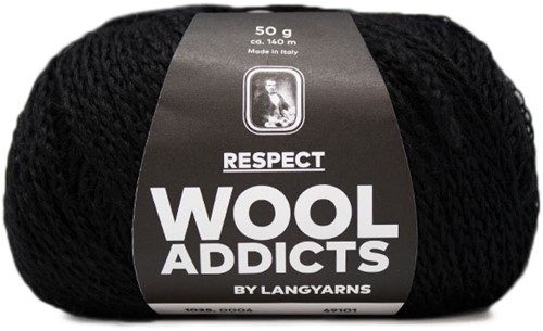 Wooladdicts Seductive Secret Cardigan Knit Kit 2 L Black