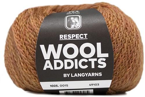 Wooladdicts Seductive Secret Cardigan Knit Kit 4 XL Amber Mélange