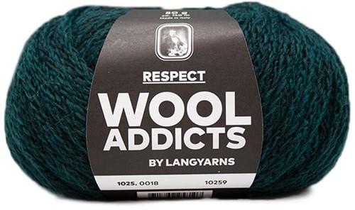 Wooladdicts Seductive Secret Cardigan Knit Kit 5 L Moss Mélange