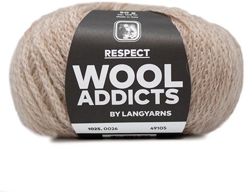 Wooladdicts Seductive Secret Cardigan Knit Kit 6 XL Beige