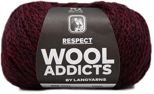 Wooladdicts Seductive Secret Cardigan Knit Kit 7 XL Sunset