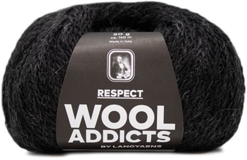 Wooladdicts Seductive Secret Cardigan Knit Kit 9 M Anthracite