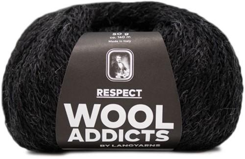 Wooladdicts Seductive Secret Cardigan Knit Kit 9 L Anthracite