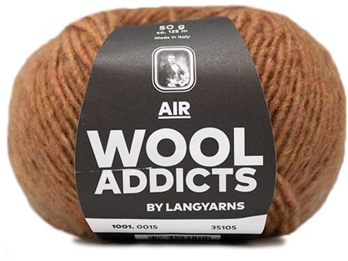 Wooladdicts Dramatic Dreamer Sweater Knit Kit 5 L Amber Mélange