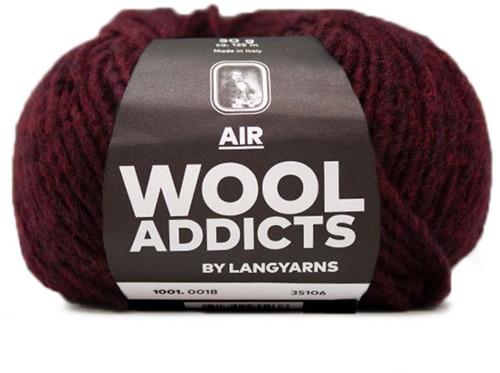 Wooladdicts Dramatic Dreamer Sweater Knit Kit 9 XL Sunset