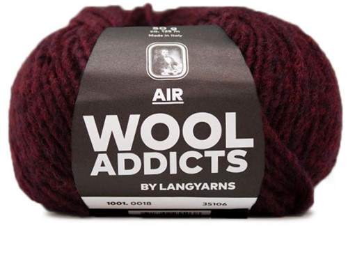 Wooladdicts Dramatic Dreamer Sweater Knit Kit 9 L Sunset