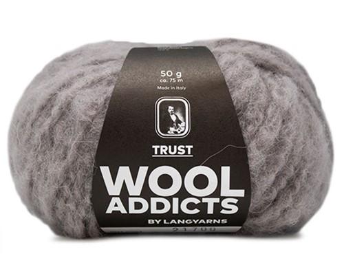 Wooladdicts Devoted Dancer Sweater Knit Kit 1 S/M Light Grey Mélange