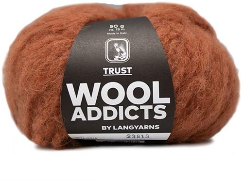 Wooladdicts Devoted Dancer Sweater Knit Kit 4 L/XL Amber Mélange