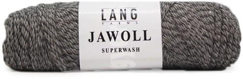 Lang Yarns Jawoll Superwash 124 Grey/Brown Mouliné