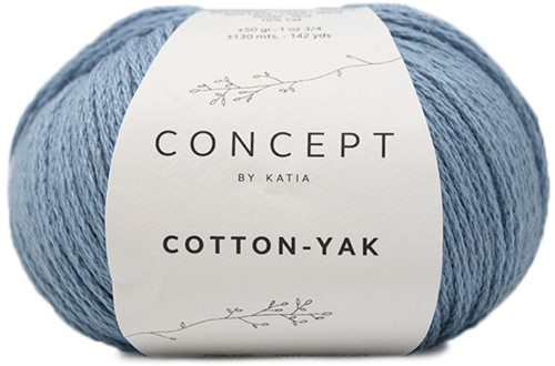 Katia Cotton-Yak 124 Light Blue
