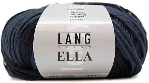 Lang Yarns Ella 125 Dark Blue