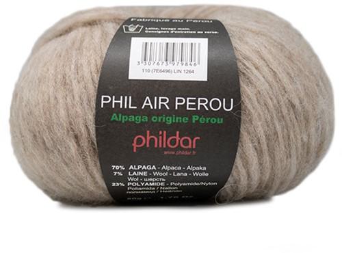 Phildar Phil Air Perou Ready-to-Wear Cardigan 1 L/XL Lin