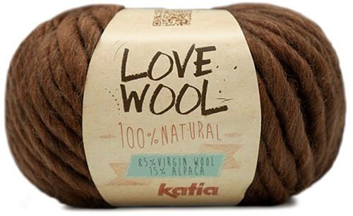 Katia Love Wool 126 Brown
