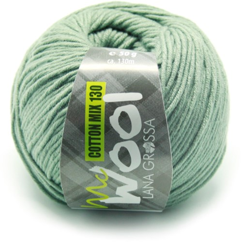 Lana Grossa Cotton Mix 130 129 Reseda Green