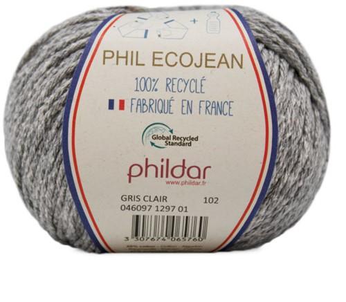 Phildar Phil Ecojean 1297 Gris Clair
