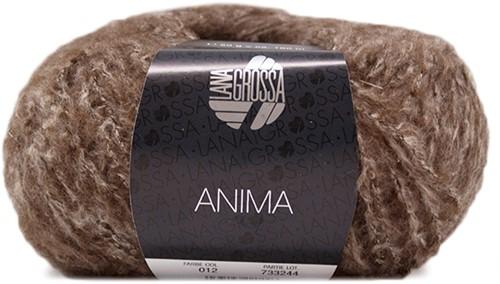 Lana Grossa Anima 12 Dark Brown Mottled