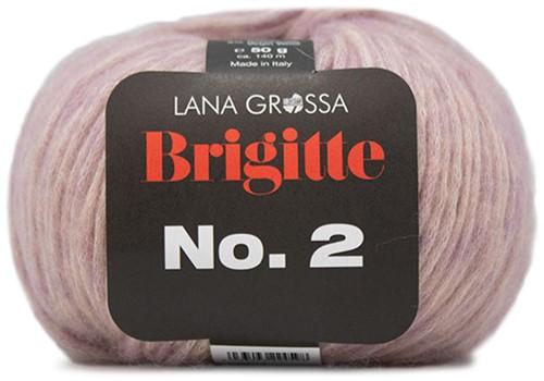 Lana Grossa Brigitte No.2 012 Old Pink