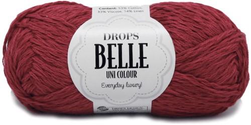 Drops Belle Uni Colour 12 Cherry