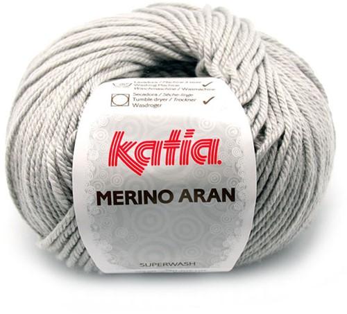 Katia Merino Aran 12 Light grey