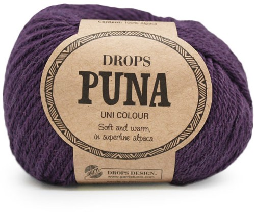 Drops Puna Uni Colour 12 Violet
