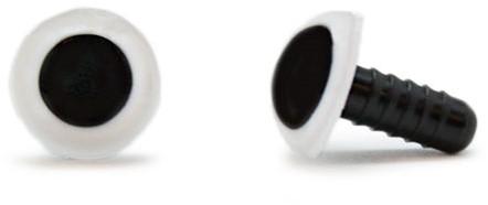 Safety Eyes White 12mm per pair