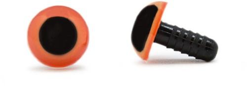 Safety Eyes Orange 12mm per pair