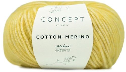 Katia Cotton-Merino 130 Yellow