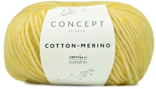 Katia Cotton-Merino 130 Yellow