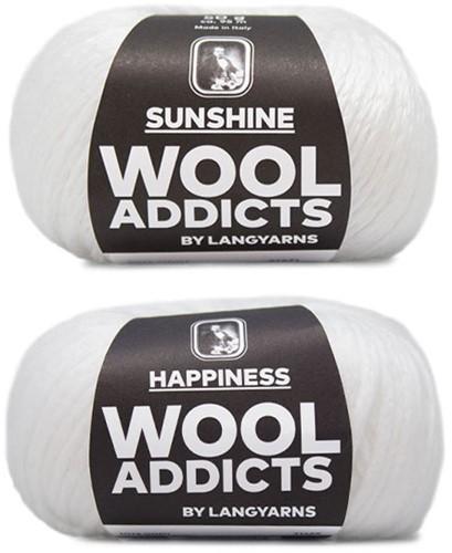 Wooladdicts Empty Promise Bag Knitting Kit 1 White