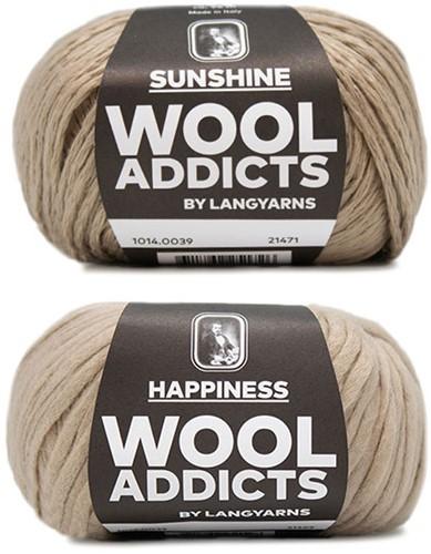 Wooladdicts Empty Promise Bag Knitting Kit 5 Camel
