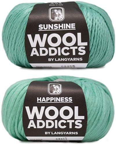 Wooladdicts Empty Promise Bag Knitting Kit 6 Mint
