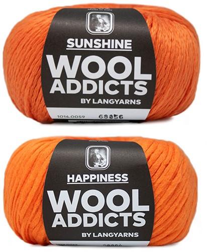 Wooladdicts Empty Promise Bag Knitting Kit 7 Orange