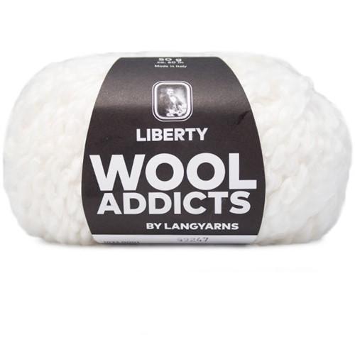 Wooladdicts Fuzzy Feeling Sweater Knitting Kit 1 M White