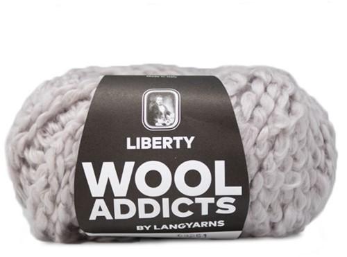 Wooladdicts Fuzzy Feeling Sweater Knitting Kit 3 XL Silver