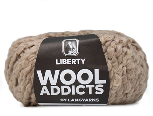 Wooladdicts Fuzzy Feeling Sweater Knitting Kit 5 L Camel