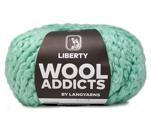 Wooladdicts Fuzzy Feeling Sweater Knitting Kit 6 XL Mint