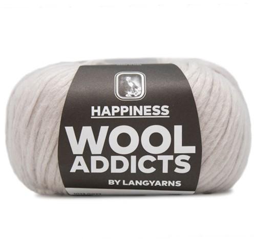 Wooladdicts Thankful Thought Cardigan Knitting Kit 3 XL Silver
