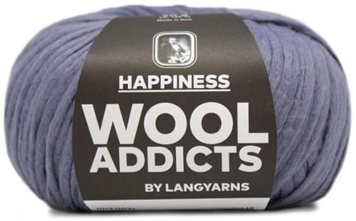 Wooladdicts Thankful Thought Cardigan Knitting Kit 4 XL Jeans