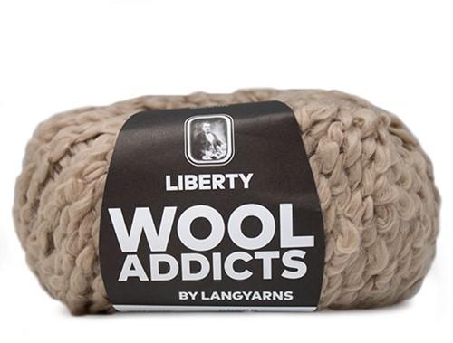 Wooladdicts Kind Knitter Triangle Shawl Knitting Kit 5 Camel