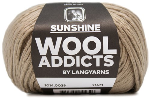 Wooladdicts Simply Shine Cardigan Knitting Kit 5 L/XL Camel