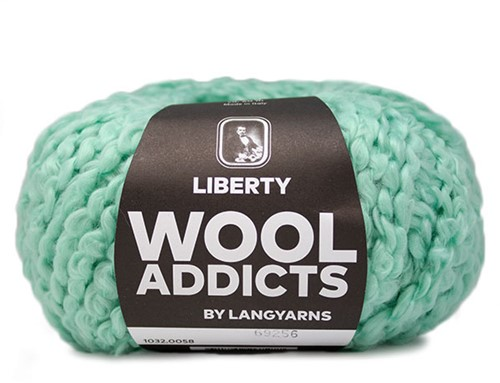 Wooladdicts Mint Madness Sweater Knitting Kit 6 XL Mint