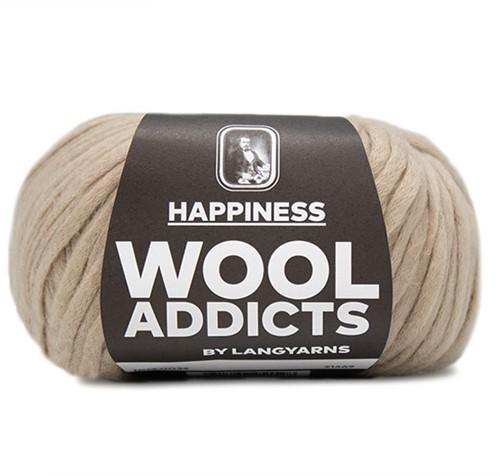 Wooladdicts Happy Habit Cardigan Knitting Kit 5 XL Camel