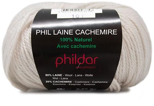 Phildar Phil Laine Cachemire 1359 Ecru
