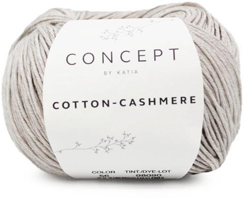 Cotton-Cashmere Top Knitting Kit 2 42/44 Stone Grey