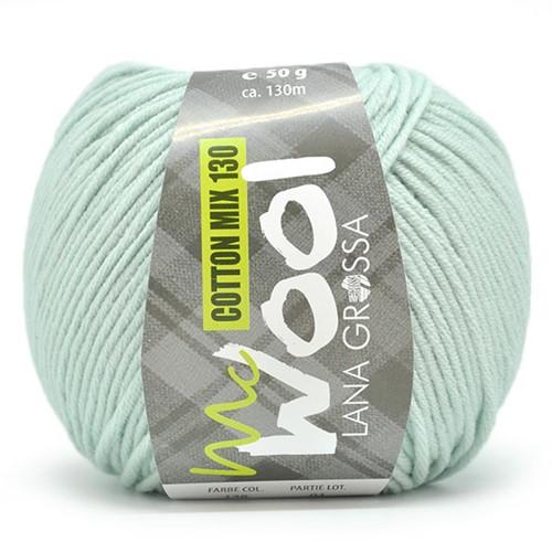 Lana Grossa Cotton Mix 130 166 Light Green