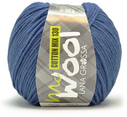 Lana Grossa Cotton Mix 130 138 Royal