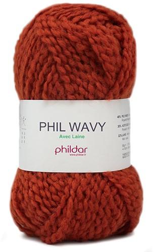 Phildar Phil Wavy 1396 Potiron