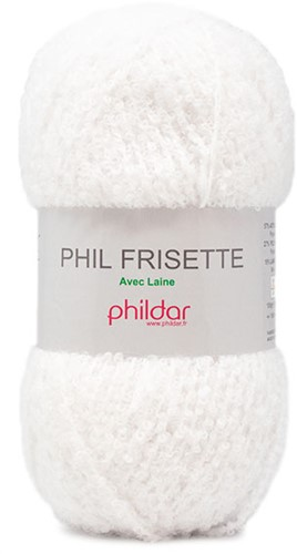 Phildar Phil Frisette 1397 Craie