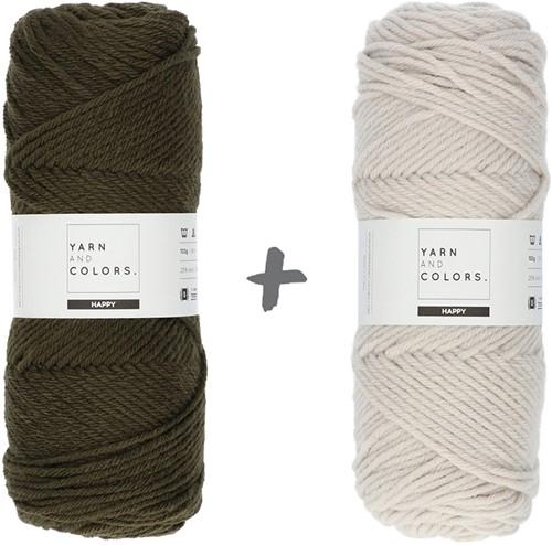 Dream Blanket 4.0 CAL Crochet Kit 13 Khaki & Birch